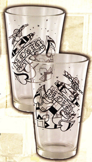 Lucky 13 Love Lost Pint Glasses