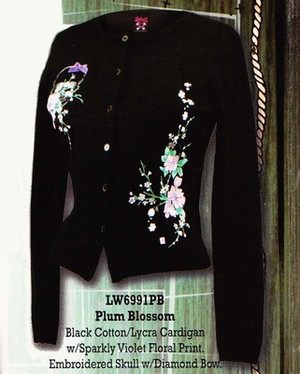 Lucky 13 Plum Blossom Cardigan