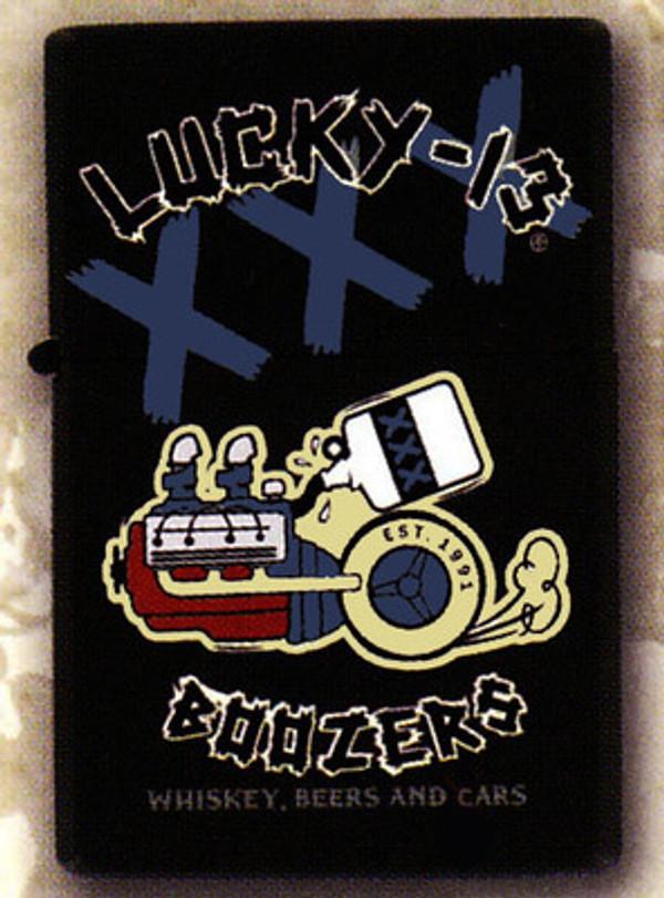Lucky 13 Boozers Lighter