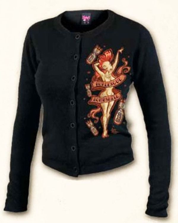 Lucky 13 Burlesque Cardigan