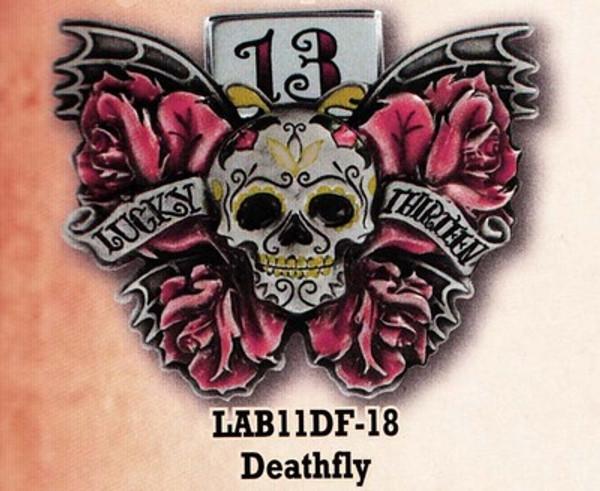 Lucky 13 Deathfly Belt Buckle