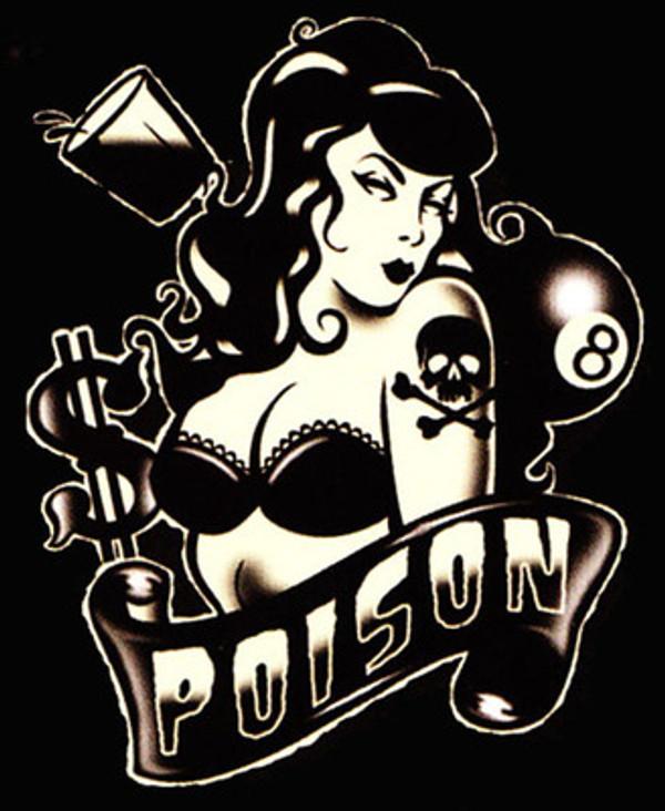 Lucky 13 Poison T-Shirt