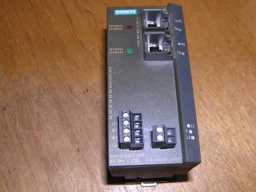 Siemens 6GK5612-0BA00-2AA3 SCALANCE S612 Module for VPN and Firewall excellent