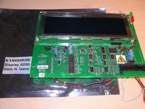Bluhm Weber FA70096/R ET 6200 LINX DISPLAY PCB ASSY 8040-511 excellent condition