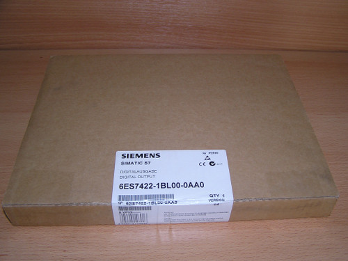 NEW - Siemens 6ES7422-1BL00-0AA0 E:04 Simatic S7-400 SM422 factory sealed box