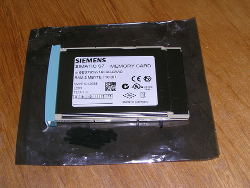 Siemens 6ES7952-1AL00-0AA0 E:08 Simatic S7-400 RAM 2MB used excellent condition