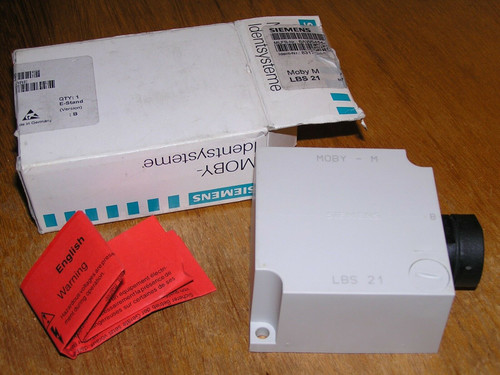 NEW - Siemens 6AW5454-8BE MOBY M SP READ-WRITE STATION LBS 21 open original box
