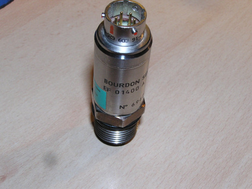 BOURDON SEDEME EF 01400 A EF01400A pressure transmitter excellent !! untested !!