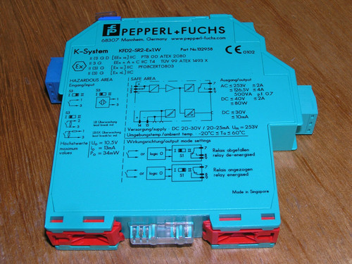 Unused - Pepperl+Fuchs KFD2-SR2-Ex1.W 132958 Switch Amplifier without box