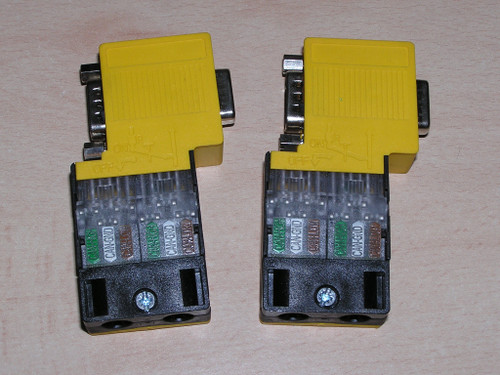 Unused - Lot 2x PILZ PSS SB SUB-D4-DIAG 311041 FastConnect SafetyBus connector