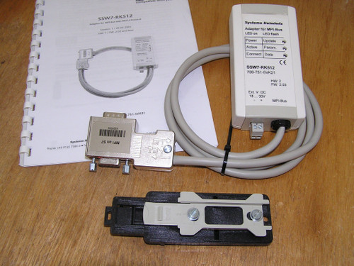 Helmholz 700-751-5VK21 SSW7-RK512 MPI adapter with RK512 protocol as new