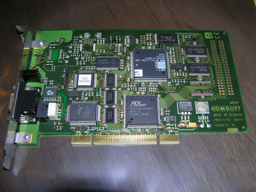 COMSOFT DF-Profi2-PCI B619301 = National Instruments 780160-01 PCI PROFIBUS used