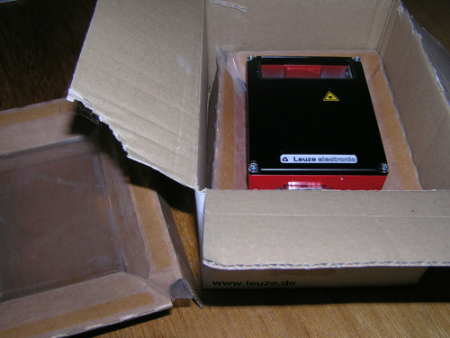 NEW - Leuze BCL 41 R1 F 100 / 50029720 Industrial Barcode Scanner original box