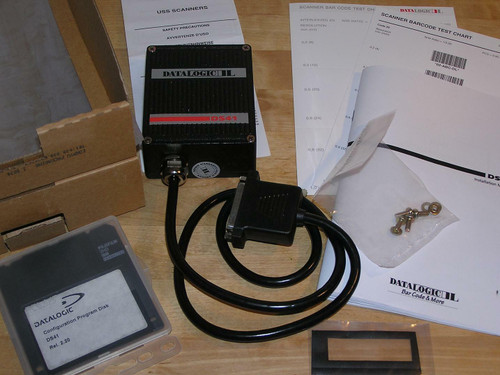 NEW old stock - Datalogic DS41-30 Industrial Barcode Scanner in original box