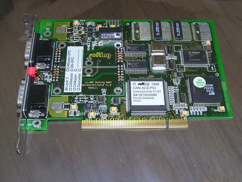 Softing CAN-AC2-PCI V1.01 (1999) CAN bus 2 Ch. Interface Card PCI used excellent