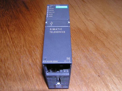 Siemens 6ES7972-0CC35-0XA0 E:02 Simatic TS-adapter II ISDN excellent condition