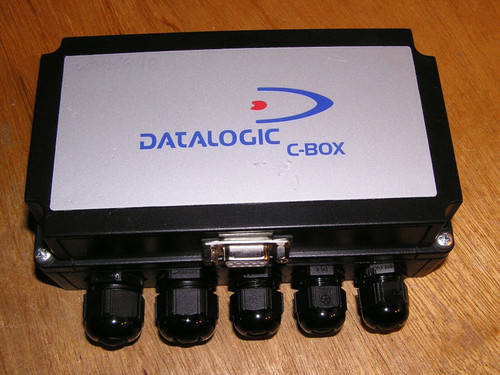 DATALOGIC C-BOX 300 93A301000 Industrial Barcode Scanner Connection Box as new