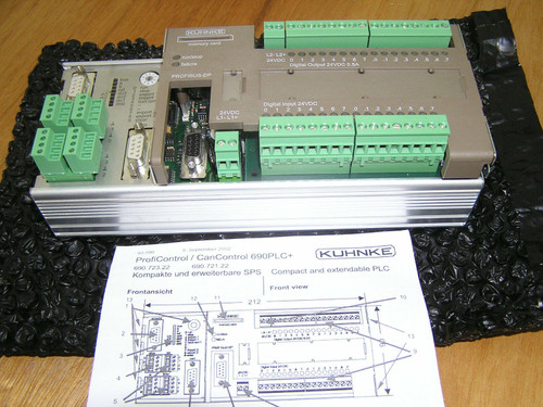 NEW - Kuhnke ProfiControl 690PLC+ 690.723.22.00 in open original box
