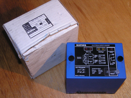 NEW old stock - MAYSER SG-SUE 102 AC 42 Electronic Safety System original box