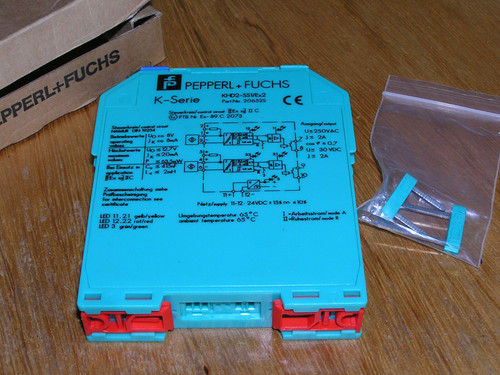 NEW - Pepperl+Fuchs KHD2-SS1/EX2 20652 Isolated Switch Amplifier original box