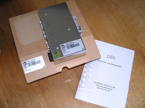 NEW - PILZ INTERFACE PITOUCH-IBS Vers. 2 240307 in original box