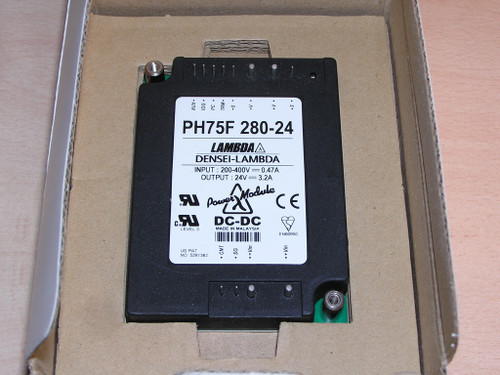 NEW - Densei Lambda PH75F 280-24 DC-DC Power Module 24VDC 3.2A original box