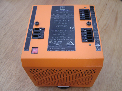 IFM AC1209 AS-Interface Combined Power Supply 29.5..31.6V and 26V 6A as new