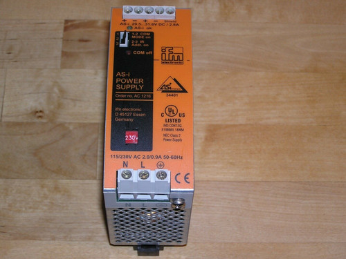 IFM AC1216 AS-i 2.8A Power Supply AC 1216 used good condition
