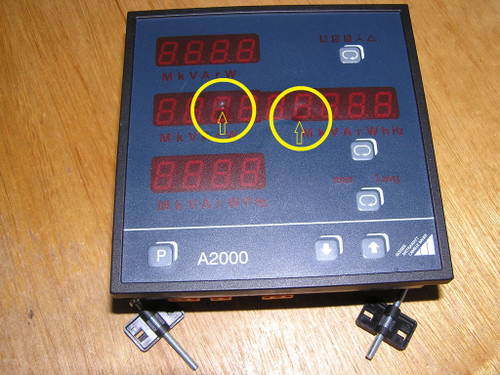 Gossen Metrawatt A2000-V005 Multifunctional Power Meter with Profibus !PLS READ!