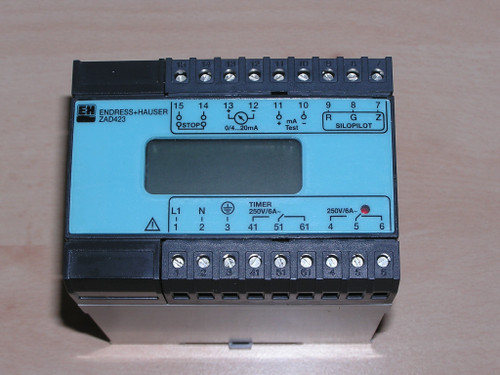 Unused - Endress+Hauser 58004098 ZAD 423-A0A Controller for FMM Silopilot no box