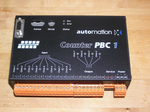 automationX Counter PBC1 aXpbc1 PB-slave Counter Module as new condition tested