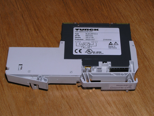 Turck 6827233 BL20-2RFID-A BL Ident RFID Module for 2 R/W Heads used excellent