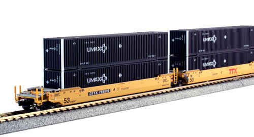 KAT-106-6176 TTX Maxi-IV w/UMAX 53' Containers