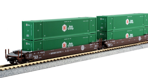 KAT-106-6177 BNSF Maxi-IV w/Hub 53' Containers