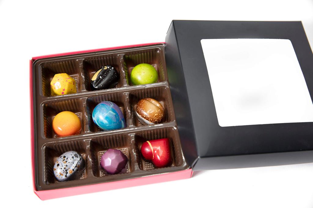 Modchocolate | 9 Piece Assortment | $42