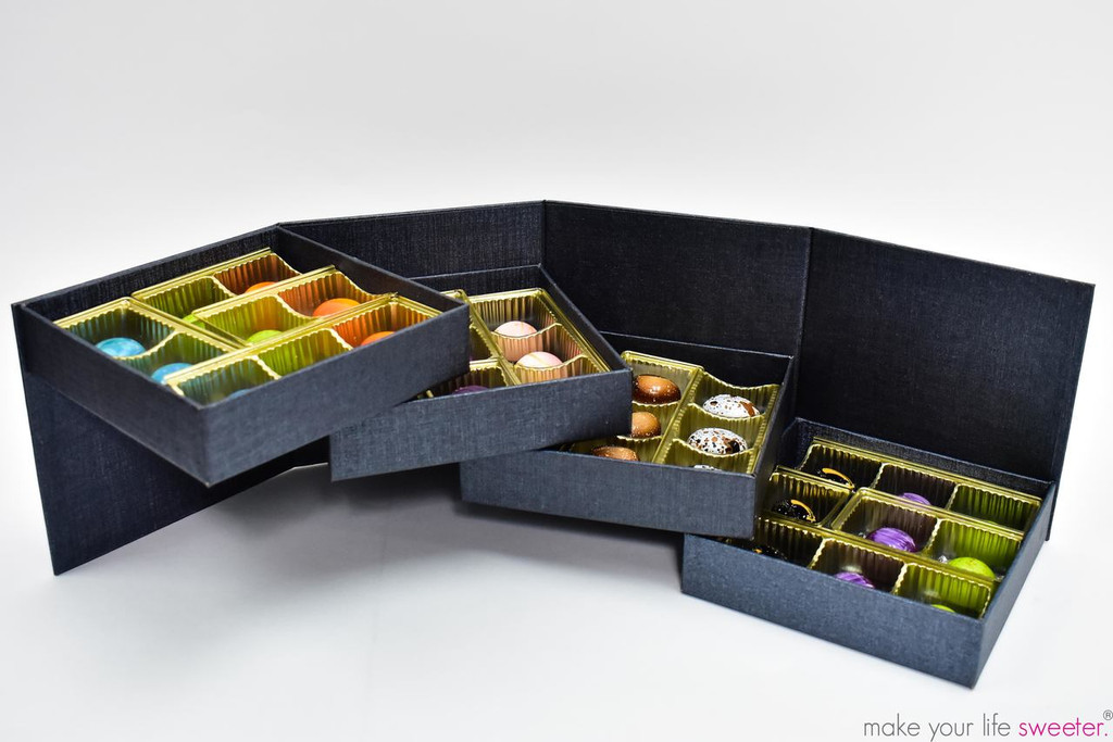 ModSweets Artisanal Chocolate Box | 36 Piece Assortment | The Artisanal Chocolate Collection