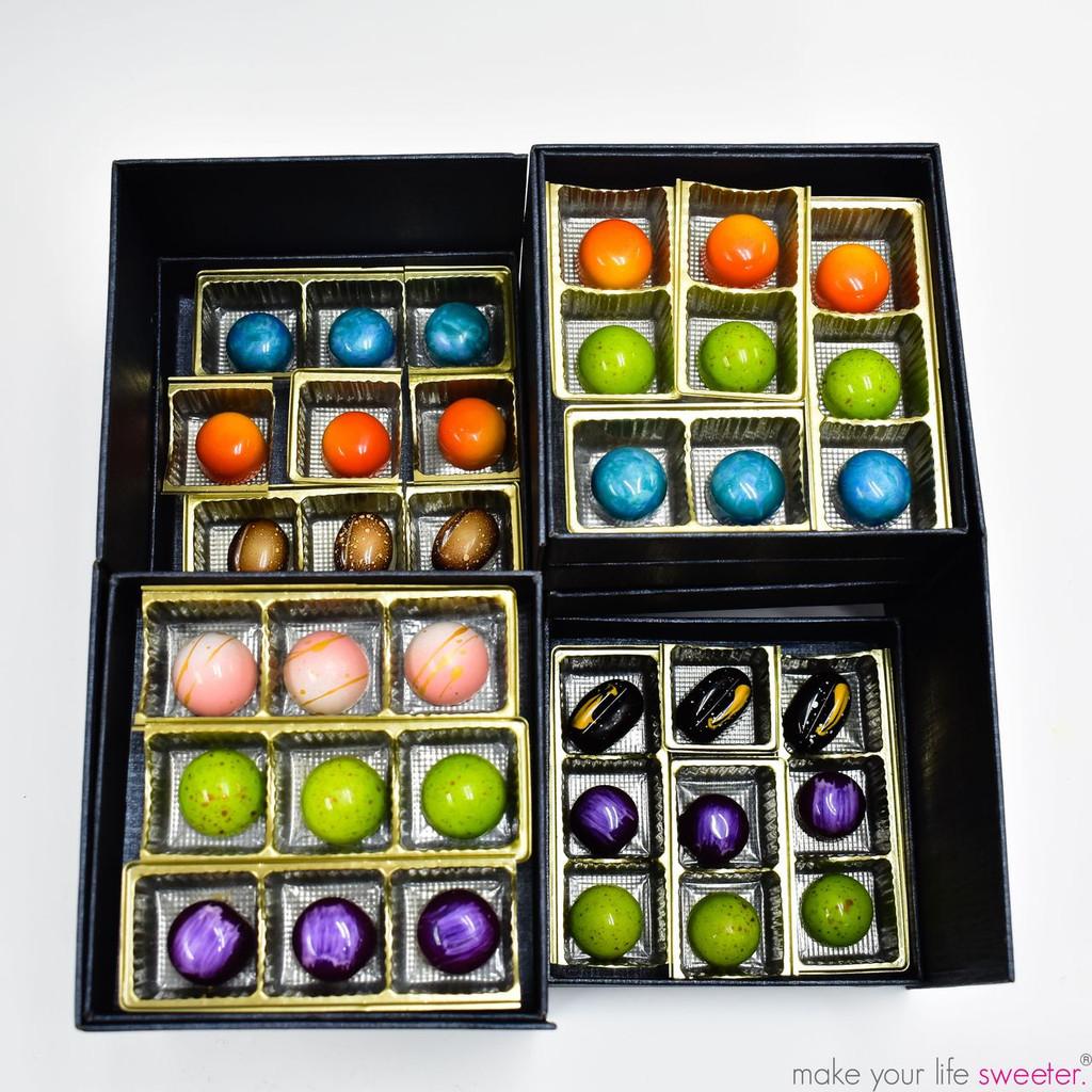 ModSweets Artisanal Chocolate Box | 36 Piece Assortment | The Artisanal Chocolate Collection