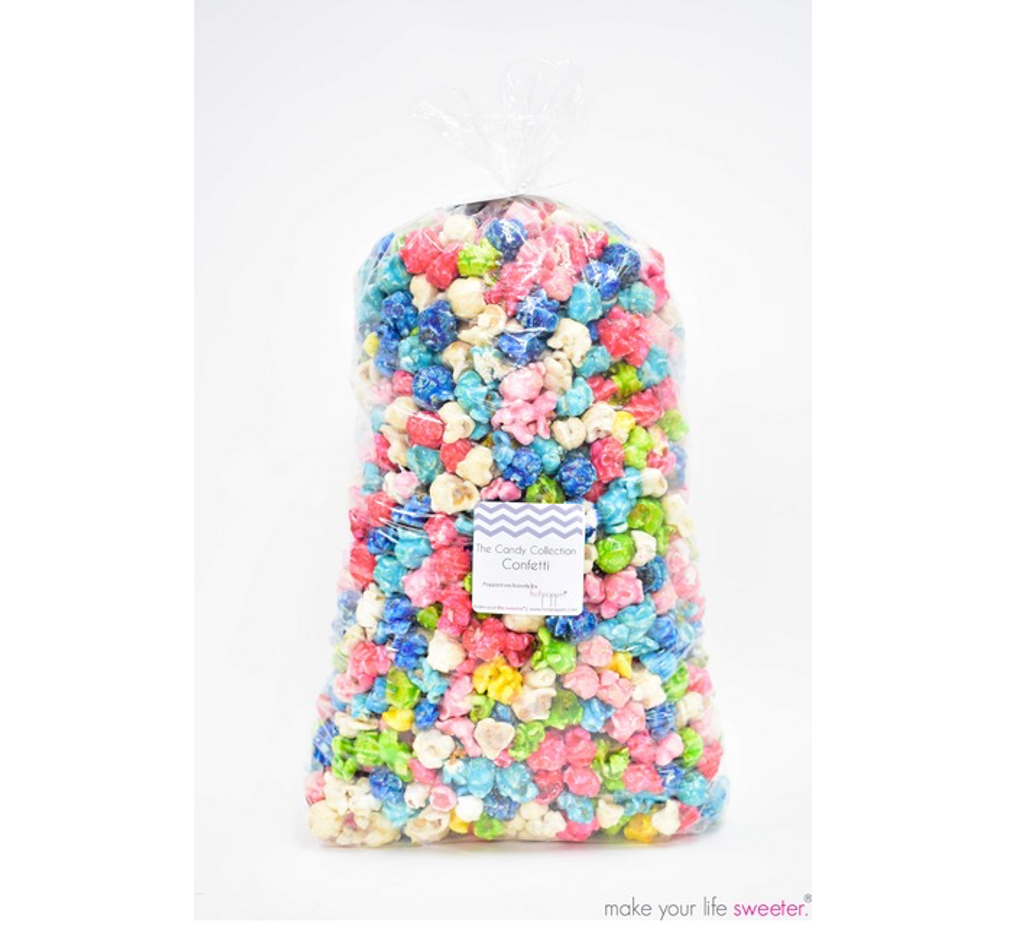 5 bags included - DIY HotPoppin Gourmet Popcorn Bar - REFILLS - 5 FLAVORS - 200 Servings