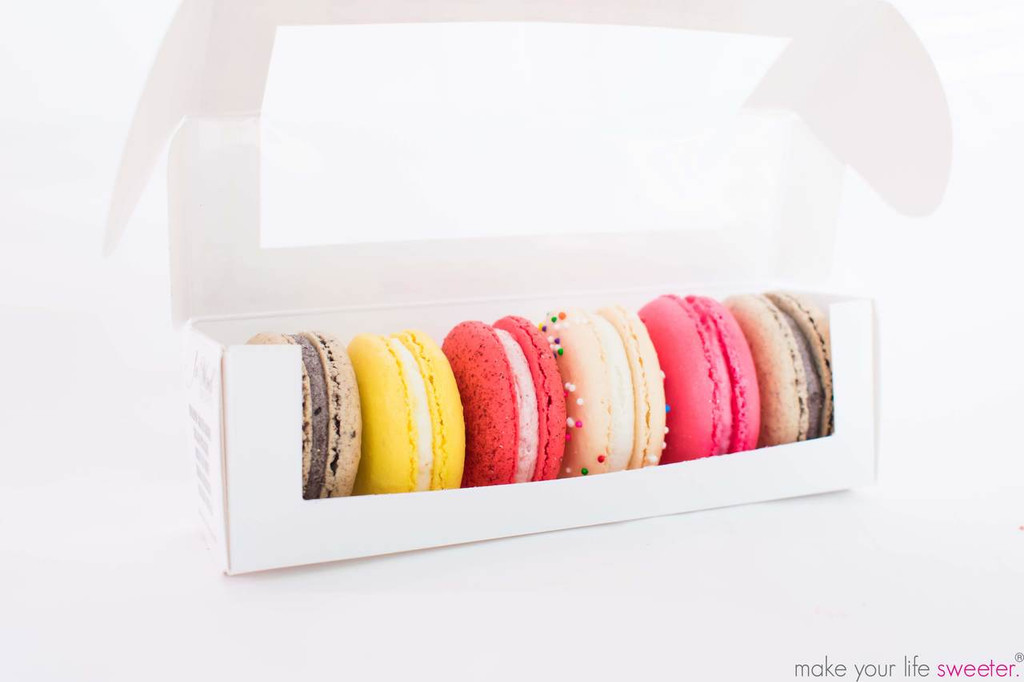 Our sweet pack of Le Mod Gourmet French Macarons are PERFECT for party favors as your guests walk out!