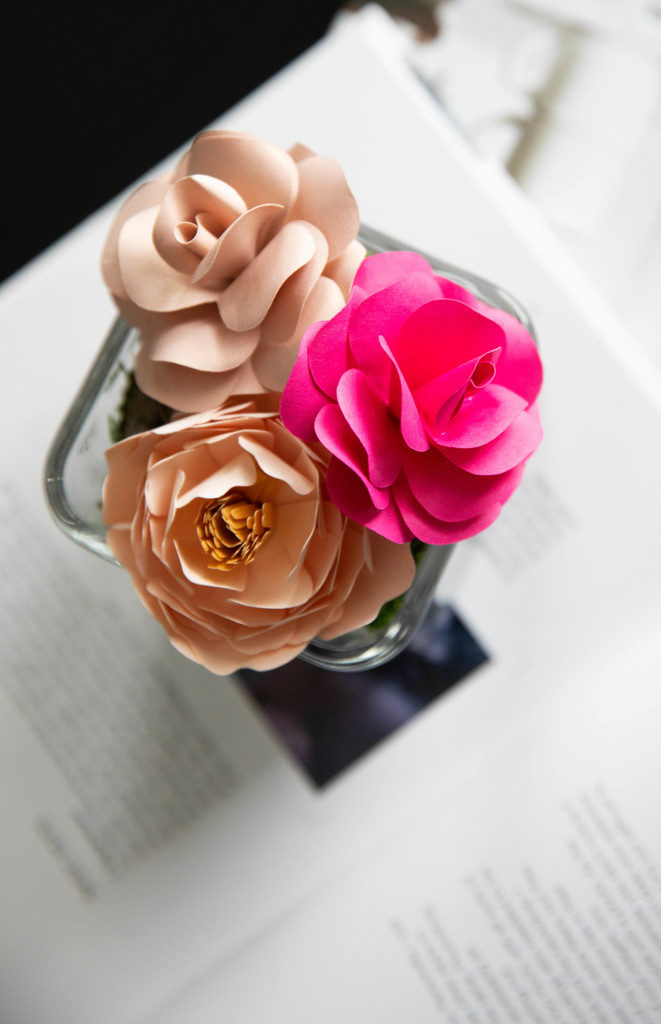 SWEET BLOOMS | PAPER FLOWER DELIVERY | PRETTY IN PINK ARRANGEMENT