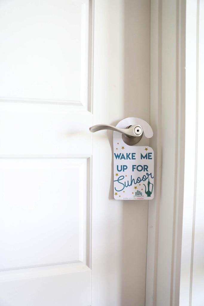 Ramadan Door Tag -  Make Your Life Sweeter