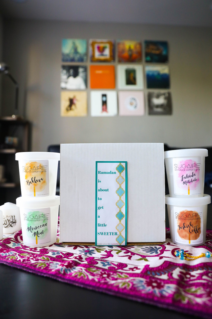 Sugaire Organic Cotton Candy Ramadan Subscription - The best way to SWEETEN your Ramadan! Delivered straight to your door!