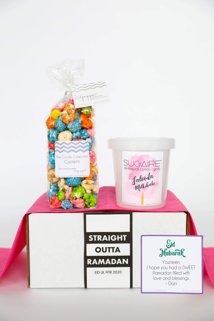 Love our treats? Want to make your EID a little SWEETER? This Sugaire gift box is the PERFECT gift to give sweet people in your life far and wide! It's one SWEET way to say EID Mubarak!