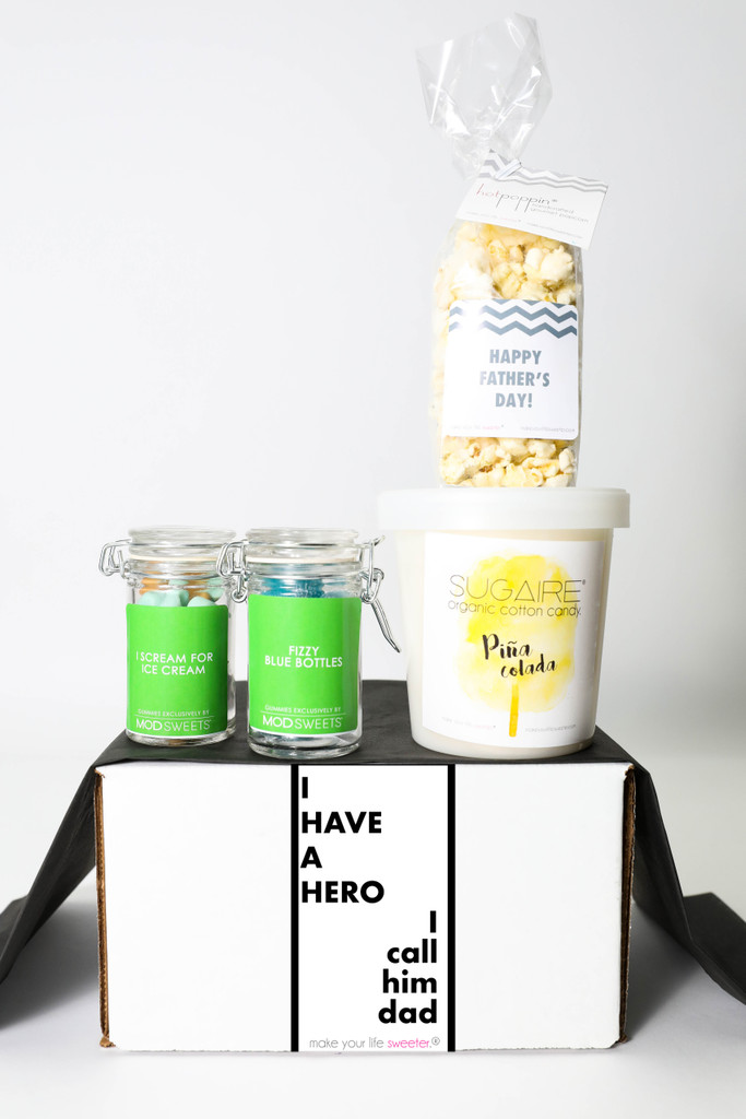 """Father's Day Gift  - """"I HAVE A HERO, I CALL HIM DAD"""" - 4 Sweet treats"""
