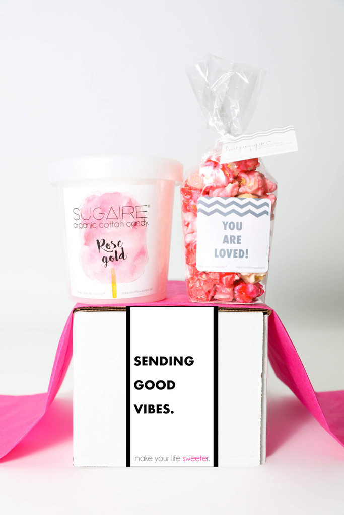 """Thinking of You Gift  - """"SENDING GOOD VIBES"""" - 2 Sweet treats"""