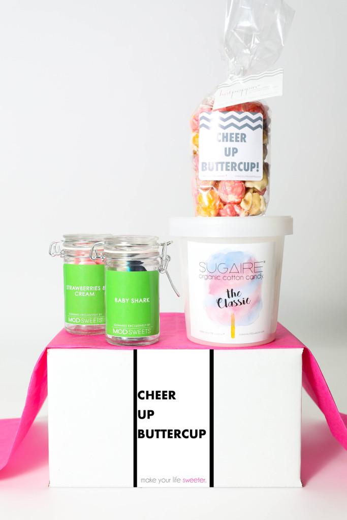 "Cheer Up Gift  - ""Cheer Up Buttercup"" - 4 Sweet treats"