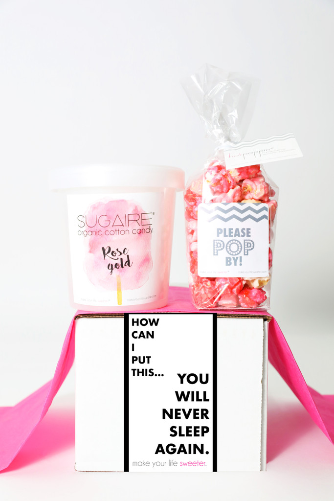 "Baby Shower Gift - ""YOU WILL NEVER SLEEP AGAIN"" - 2 Sweet treats"