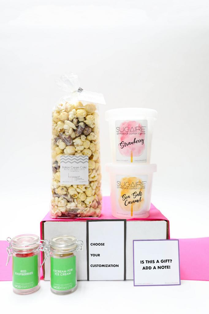 MEDIUM SWEET GIFT BOX | 6 Sweet Treats | Choose your customization