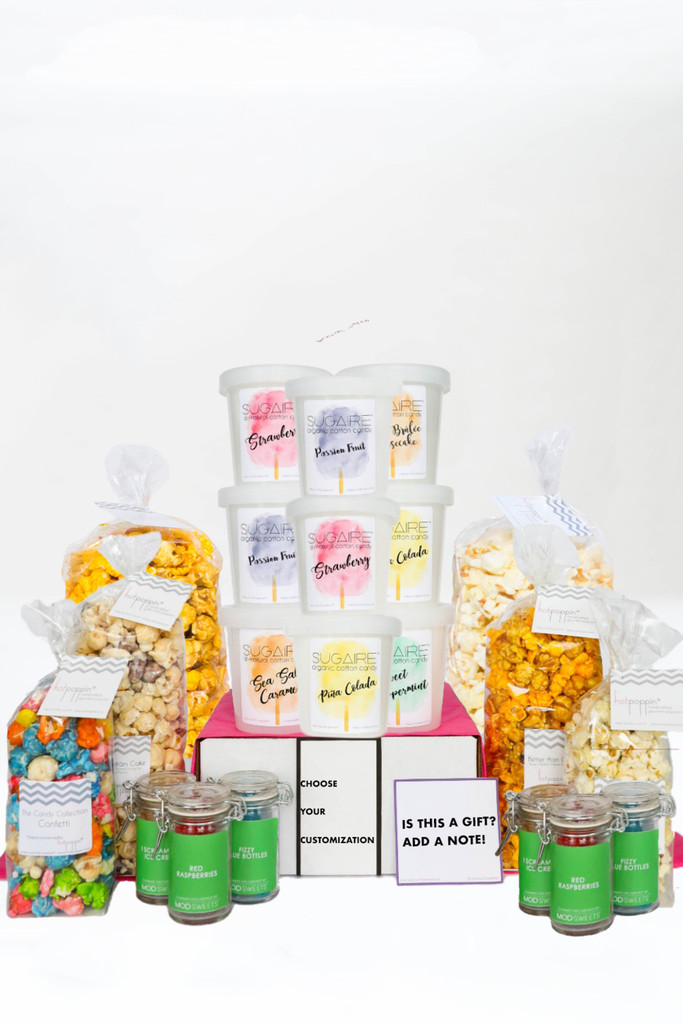 THE ULTIMATE SWEET GIFT BOX   36 Servings of Sweet Treats   Choose your customization