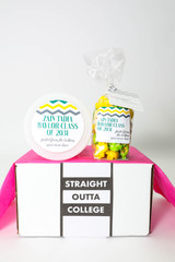 "Graduation Gift - ""Straight Outta Highschool/College"" - Two sweet treats!"
